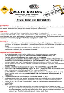 OfficialRules&Regulations