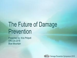 The Future of Damage Prevention